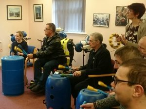 Disabled Adults Drumming